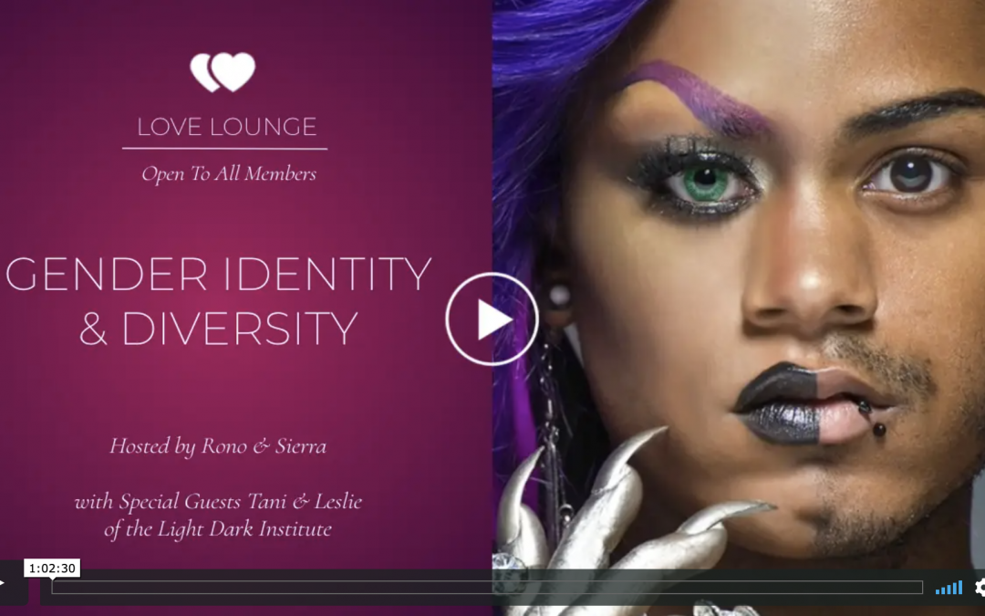 LOVE LOUNGE RECORDING: Gender Identity & Diversity