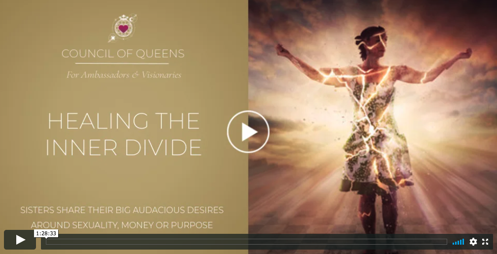 QUEENS RECORDING: Queens Healing the Inner Divide