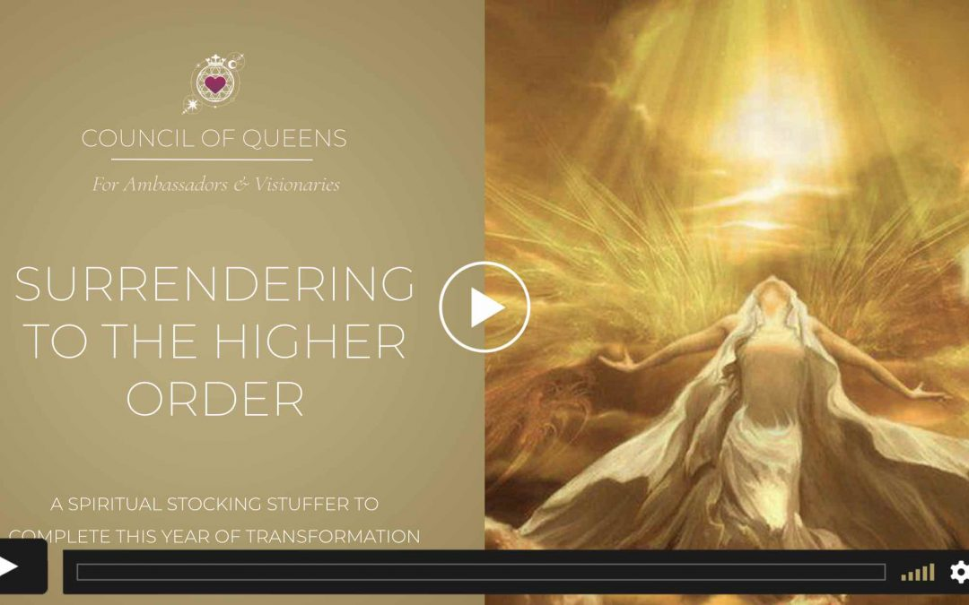 QUEENS RECORDING: Surrendering to the Higher Order